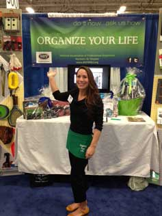 Taryn presenting at the North Jersey Home Show