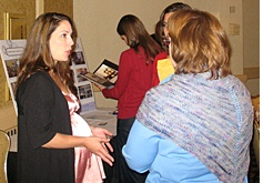 Taryn speaking at the NJ Moms Club Annual Conference